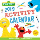 2019 Sesame Street Activity Calendar: Monthly Fun for the Whole Family!