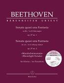 【輸入楽譜】ベートーヴェン, Ludwig van: ピアノ・ソナタ 第13番 変ホ長調 Op.27/1、 第14番 嬰ハ短調 Op.27/2「月…