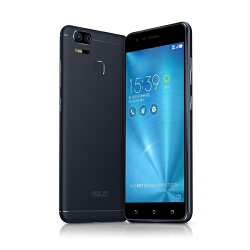 Zenfone Zoom S ZE553KL スマートフォン ネイビーブラック