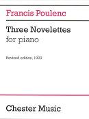 【輸入楽譜】プーランク, Francis: 3つのノヴェレッテ