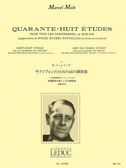 フェルリング/ミュール:サクソフォンのための48の練習曲 ルデュック社ライセンス版