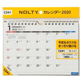 C241 NOLTYカレンダー卓上41 2020年1月始まり ([カレンダー])