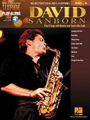 David Sanborn: Saxophone Play-Along Volume 8