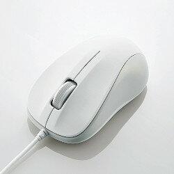 光学式マウス USB 3ボタン ホワイト ROHS指令準拠