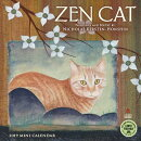 Zen Cat 2019 Mini Calendar: Paintings and Poetry by Nicholas Kirsten-Honshin