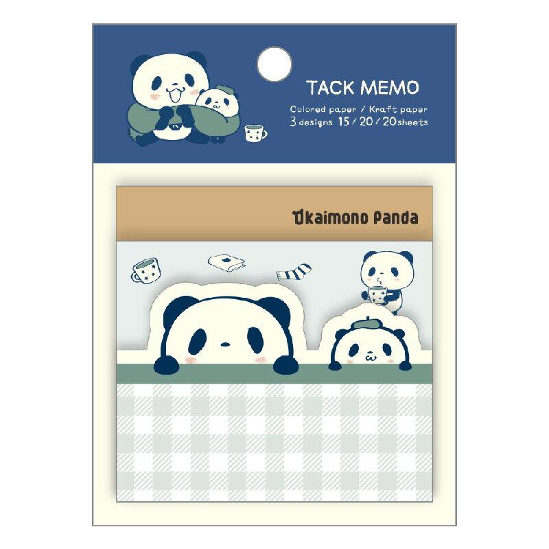 【ポイント交換限定】お買いものパンダふせんセット(3種)〜ほっこりシリーズ〜