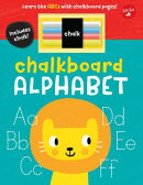 Chalkboard Alphabet: Learn the ABCs with Chalkboard Pages!