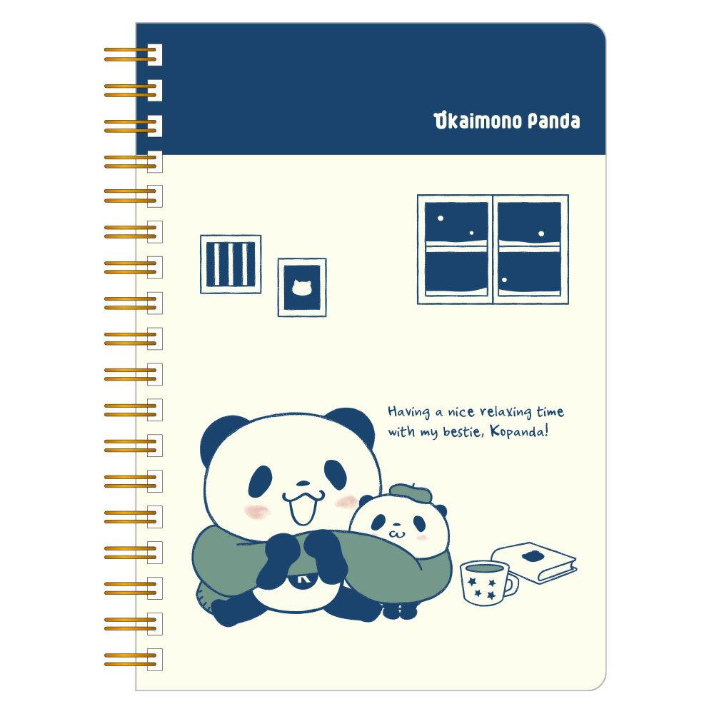 【ポイント交換限定】お買いものパンダリングノート(B6ワイド)〜ほっこりシリーズ〜