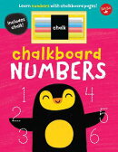 Chalkboard Numbers: Learn Numbers with Chalkboard Pages!