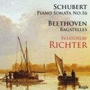 【輸入盤】 シューベルト:ピアノ・ソナタ16番、ベートーヴェン:バガテル集 リヒテル