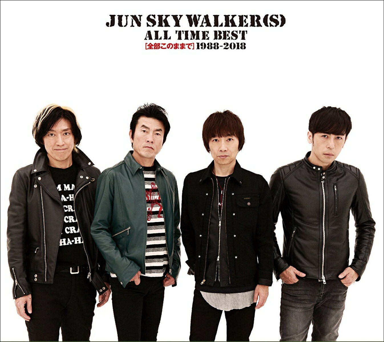 ALL TIME BEST〜全部このままで〜1988-2018 (初回限定盤 CD+DVD) [ JUN SKY WALKER(S) ]