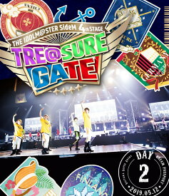 THE IDOLM@STER SideM 4th STAGE 〜TRE@SURE GATE〜 LIVE Blu-ray DREAM PASSPORT(DAY2通常版)【Blu-ray】 [ アイドルマスターSideM ]