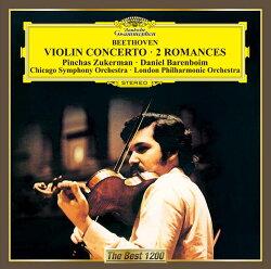 ベートーヴェン:ヴァイオリン協奏曲 ロマンス第1番&第2番