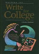 Write for College
