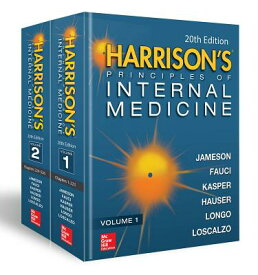 Harrison's Principles of Internal Medicine, Twentieth Edition (Vol.1 & Vol.2) BOXED-HARRISONS PRINCIPLES 2V [ J. Larry Jameson ]