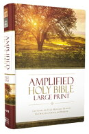 Amplified Bible-Am-Large Print: Captures the Full Meaning Behind the Original Greek and Hebrew