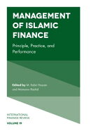 Management of Islamic Finance: Principle, Practice, and Performance