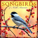 2019 Songbirds of North America 16-Month Wall Calendar: By Sellers Publishing