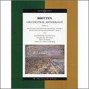 【輸入楽譜】ブリテン, Benjamin: 管弦楽のためのアンソロジー 第2巻: 大型スコア