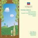 【輸入盤】アルプス交響曲、家庭交響曲、パレルゴン、他 メータ&ロサンゼルス・フィル、プレヴィン&ウィーン・フ…