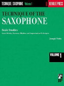 Technique of the Saxophone - Volume 1: Scale Studies