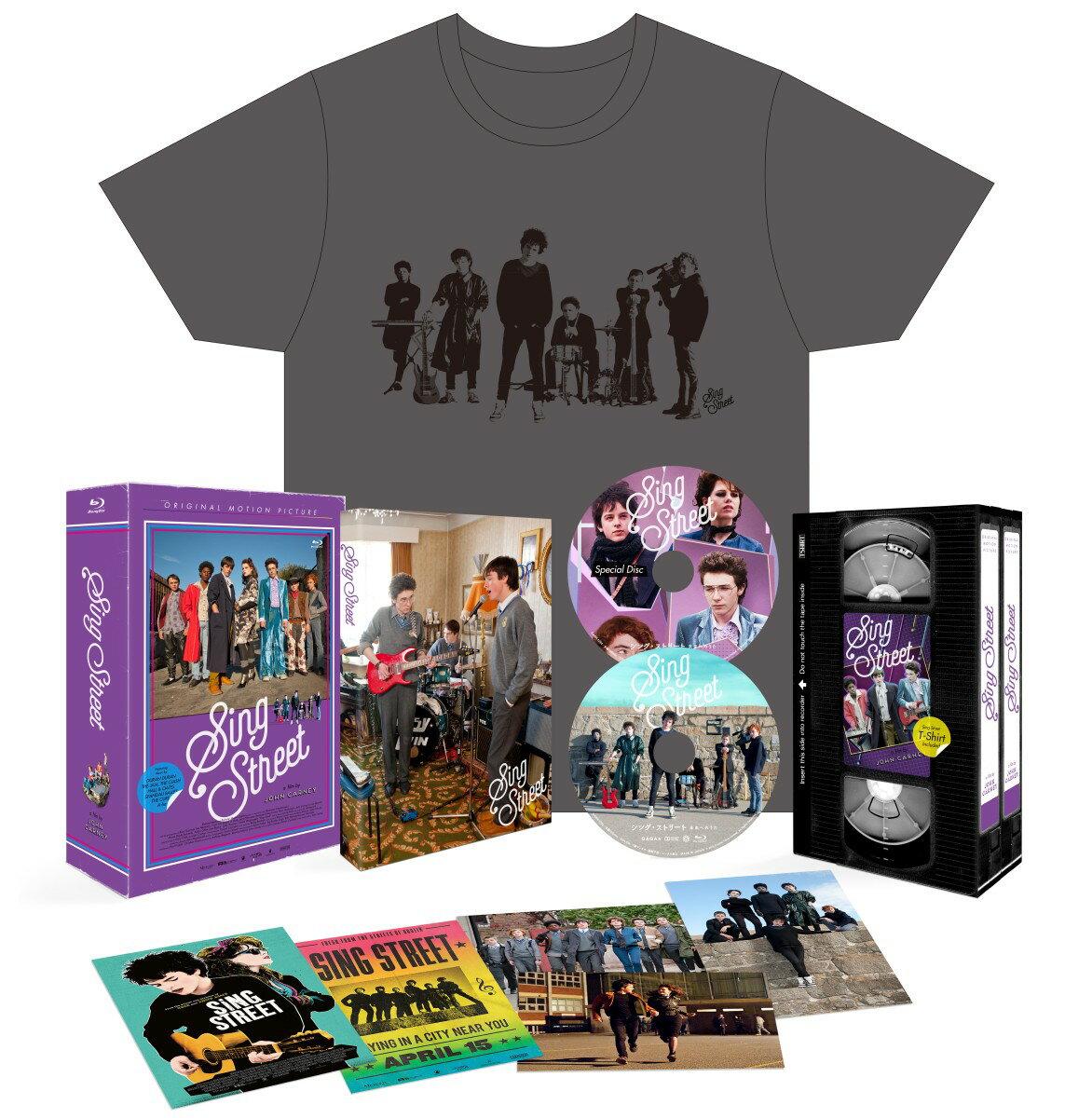 シング・ストリート 未来へのうた Blu-rayプレミアム・エディション<2枚組>(初回限定生産)【Blu-ray】 [ フェルディア・ウォルシュ=ピーロ ]