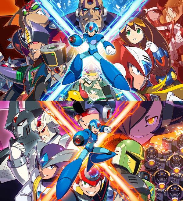 ロックマンX アニバーサリー コレクション 1+2 PS4版