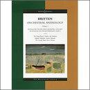 【輸入楽譜】ブリテン, Benjamin: 管弦楽のためのアンソロジー 第1巻: 大型スコア