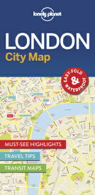 Lonely Planet London City Map MAP-LONELY PLANET LONDON CITY (Map) [ Lonely Planet ]