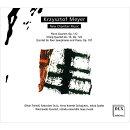 【輸入盤】ピアノ四重奏曲、弦楽四重奏曲第14番、4つのサックスとピアノのための五重奏曲 オリヴァー・トリエンド…