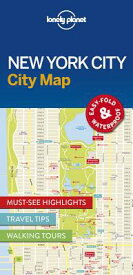 Lonely Planet New York City Map MAP-LONELY PLANET NEW YORK CIT (Map) [ Lonely Planet ]