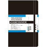 164City notebook Vancouver モレスキン ([文具])