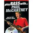 【輸入楽譜】マッカートニー, Paul: プレイ ベース with ポール マッカートニー(CD付)