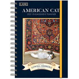 American Cat(tm) 2021 Spiral Engagement Planner AMER CAT(TM) 2021 SPIRAL ENGAG [ Lowell Herrero ]