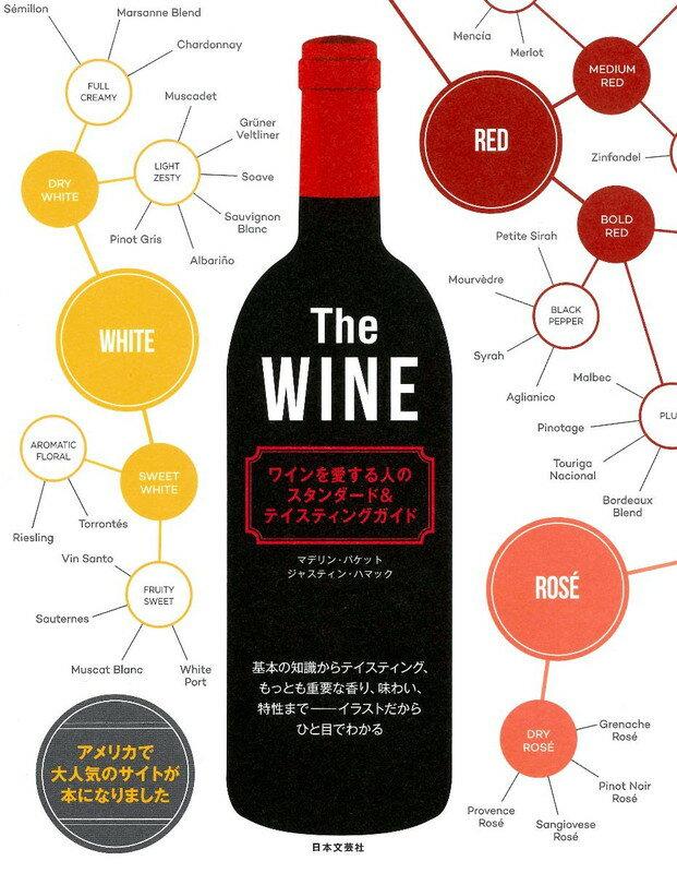 The WINE ワインを愛する人のスタンダード&テイスティングガイド 基礎の知識からテイスティング、もっとも重要な香り、味わい、特性までーイラストだからひと目でわかる [ マデリーン・パケット ]