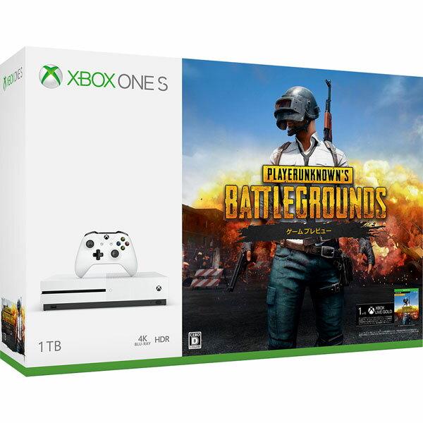 Xbox One S 1 TB (PlayerUnknown's Battlegrounds 同梱版)