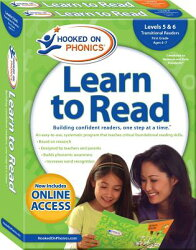 Hooked on Phonics Learn to Read - Levels 5&6 Complete: Transitional Readers (First Grade - Ages 6-7)