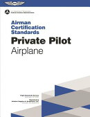Private Pilot Airman Certification Standards - Airplane: FAA-S-Acs-6, for Airplane Single- And Multi