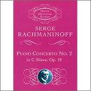 【輸入楽譜】ラフマニノフ, Sergei: ピアノ協奏曲 第2番 ハ短調 Op.18: 小型スコア