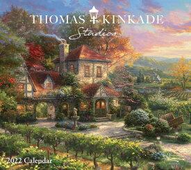 Thomas Kinkade Studios 2022 Deluxe Wall Calendar THOMAS KINKADE STUDIOS 2022 DL [ Thomas Kinkade ]