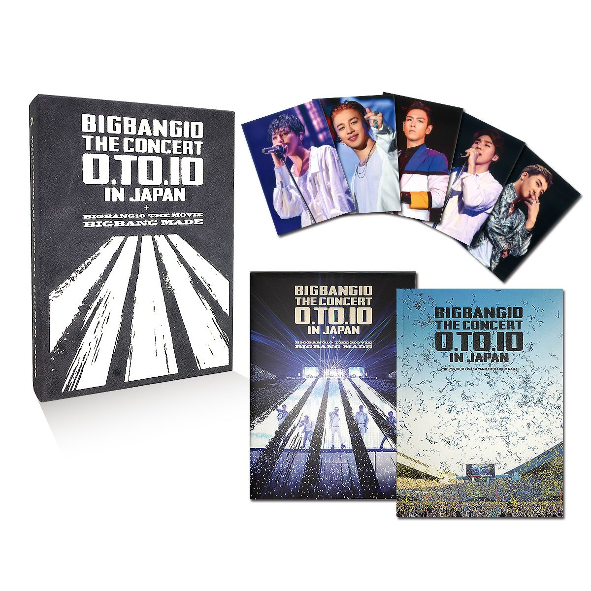BIGBANG10 THE CONCERT : 0.TO.10 IN JAPAN + BIGBANG10 THE MOVIE BIGBANG MADE[DVD(4枚組)+LIVE CD(2枚組)+PHOTO BOOK+スマプラムービー&ミュージック] -DELUXE EDITION-(初回生産限定) [ BIGBANG ]