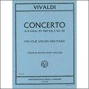 【輸入楽譜】ヴィヴァルディ, Antonio: 合奏協奏曲集「調和の霊感」より 4台のバイオリンのための協奏曲 ロ短調 F.I…