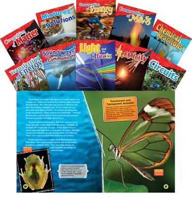 Let's Explore Physical Science Grades 4-5, 10-Book Set (Informational Text: Exploring Science) PREPAK-LETS EXPLORE PHYSICAL S (Let's Explore Physical Science Grades 4-5, 10-Book Set) [ Teacher Created Materials ]