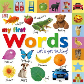 Tabbed Board Books: My First Words: Let's Get Talking! TABBED BOARD BKS MY 1ST WORDS (My First) [ DK ]