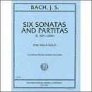 【輸入楽譜】バッハ, Johann Sebastian: 無伴奏バイオリンのためのソナタとパルティータ BWV 1001-1006