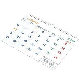 2020年 カレンダー 壁掛け A4 CLK-A4-01 [ ダイアリー ]