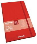 Pantone Planner 2019 Compact Weekly Tomato Red