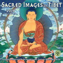 Sacred Images of Tibet 2019 Wall Calendar: Thangka Meditation Paintings and Text by Kalsang Dawa