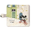 SKMM-BKI6-004 Disney × collaborn SKBOOK_Mickey & Minnie_004 【iPhone6s/6専用 Folio(手帳)ケース】