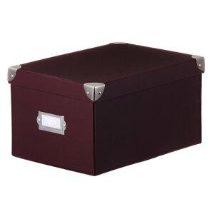 ラドンナ 収納ボックス Toffy マジックボックス S ショコラブラウン TMX-004N-CBR 収納箱 (文具(Stationary))